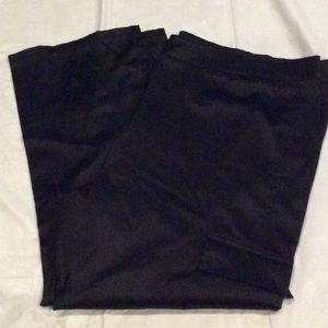 Pants - Black shiny pants